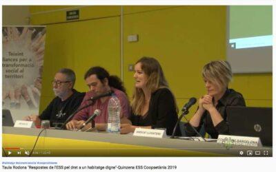 Coopsetània estrena canal de Youtube amb propostes sobre habitatge cooperatiu