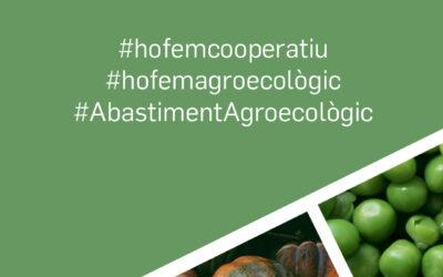Coopsetània i els grups de consum del territori se sumen a la campanya #hofemagroecològic