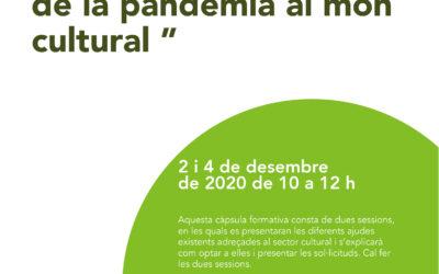 Coopsetània organitza dues sessions per presentar les subvencions que es pot acollir el sector cultural