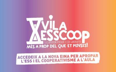 Arriba el #VilaESSCoop, un escape room col·laboratiu i virtual per als centres educatius!